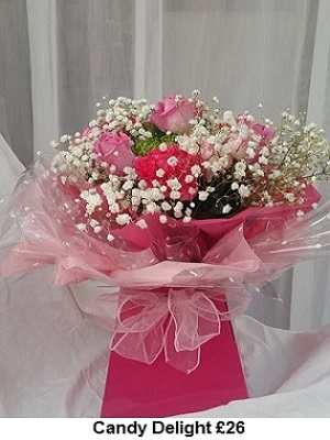 Candy Delight| Florists Widnes | Flowers by Carol