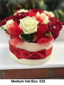 Hat Box| Florists Widnes | Flowers by Carol