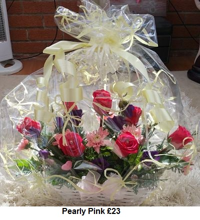 Pearly Pink £23| Florists Widnes | Flowers by Carol