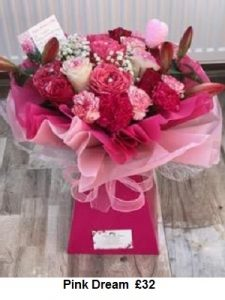 Pink Dream | Florists Widnes | Flowers by Carol