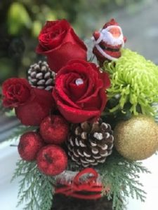 Santa's Old Boot| Florists Widnes | Flowers by Carol