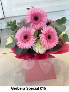 Gerbera Special| Florists Widnes | Flowers by Carol