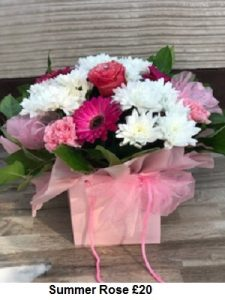 Summer Rose| Florists Widnes | Flowers by Carol