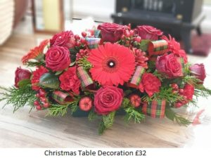 Christmas Flowers| Florists Widnes | Flowers by Carol