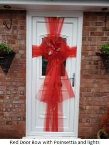 Door Bows Widnes| Florists Widnes | Flowers by Carol